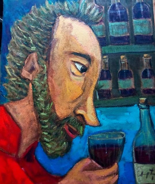 Hampton Rodríguez - Self Portrait
